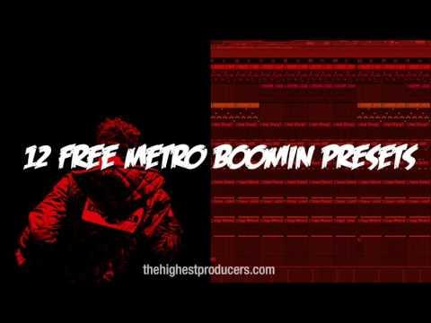 Metro Boomin Free Presets - 12  Presets for Sytrus Fl Studio VST