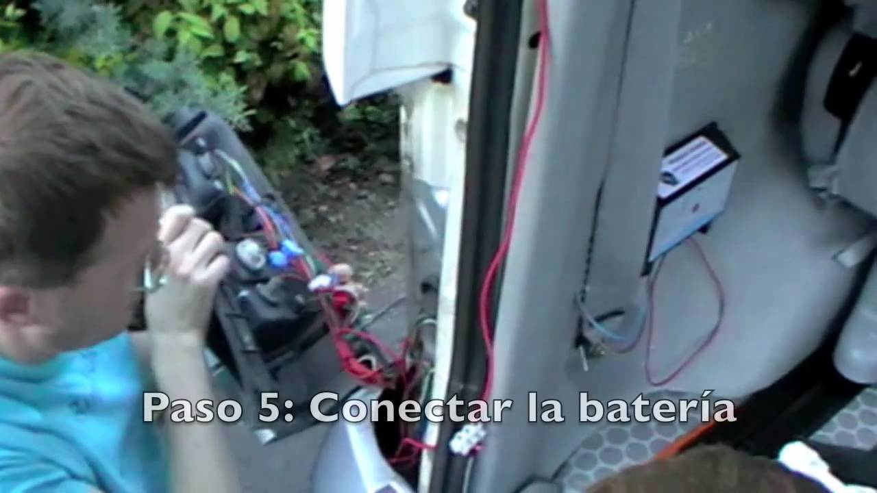 Instalaci 243 N Solar En Una Caravana Youtube