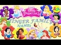 Disney Princess Finger Family Song: Princess Daddy Finger Character Names | Nursery Rhymes for Kids