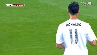 The Day Cristiano Ronaldo Played As Number 11