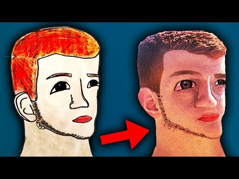 איך ציורי מעריצים יראו במציאות