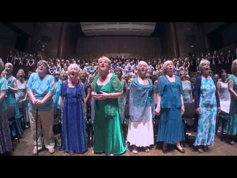 Let The River Run, Gordano Gorgeous Chorus & Gurt Lush Choir, Colston Hall, 4th July 2015