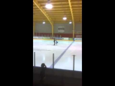 Tara's American skating test