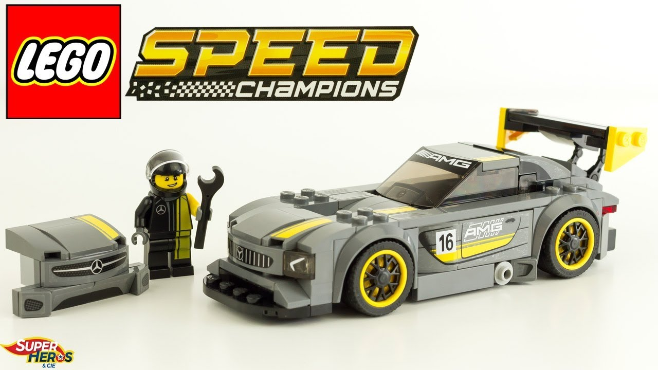mercedes amg gt3 lego speed champions speed build 75877. Black Bedroom Furniture Sets. Home Design Ideas