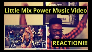 Little Mix Power Music Video (REACTION)!!