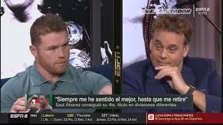"(2/2) Saúl ""Canelo"" Álvarez le contesta a David Faitelson y a sus críticos - ESPN KO"