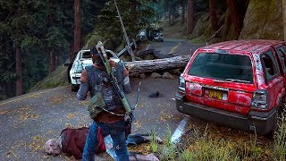 DAYS GONE - NEW Gameplay Demo (TGS 2018) Zombie Game