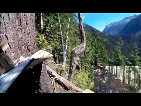 Spruce Claim, King County, Washington with Bob Jackson mining Pyrite and Quartz crystals - Part 1