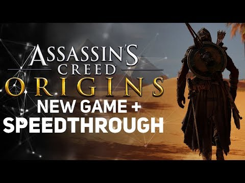 Assassin's Creed Origins [LIVE/PC] - New Game + SPEEDTHROUGH