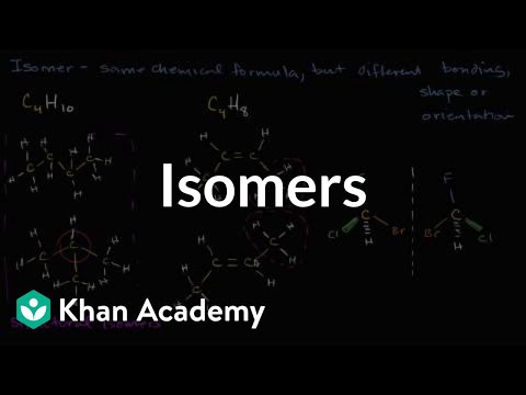 Isomers | Properties of carbon | Biology | Khan Academy
