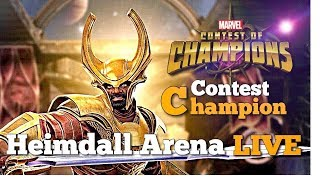 Heimdall Arena - Round 2 - Part 2 | Marvel Contest of Champions Live Stream