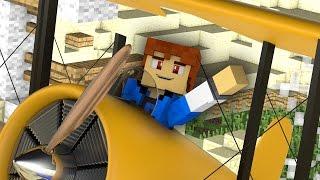 Minecraft Stranded - PLANE CRASH !?