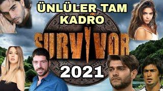 Survivor 2021 Ünlüler Kadrosu