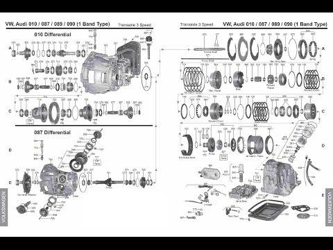 Фото к видео: Ремонт акпп - Audi 80