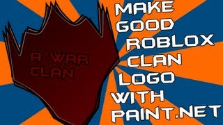 Roblox - How to Make a Good Clan Logo With Paint.NET