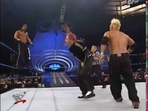 Too Cool vs Hardy Boyz (Tag Team Championship) - Smackdown 06/01/00