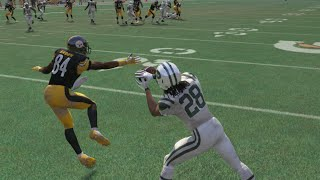 Can The Worst CB in Madden 16, Saalim Hakim Get a Pick 6 Against the Best WR Antonio Brown!?