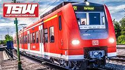 TSW 2020 Hauptstrecke Rhein-Ruhr: Quer durch das RUHRGEBIET | BR 425 | TRAIN SIM WORLD 2020