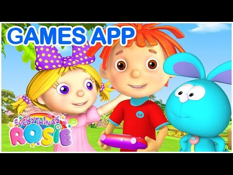 Cartoon for kids | Fun Games App for Kids | Free Download | Everythings Rosie