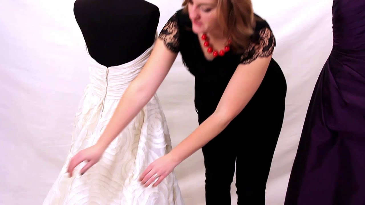 Common bridesmaid and wedding dress alterations youtube solutioingenieria Image collections
