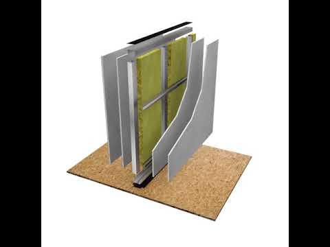 HD1053: Single Metal Stud Wall -