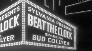 BEAT THE CLOCK with Bud Collyer (Aug 23, 1952)
