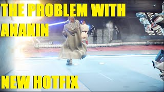 Star Wars Battlefront 2 - The Problem with Anakin. | Thoughts on NEW hotfix! (Capital Supremacy)