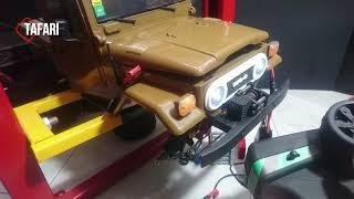 WPL C44 KM - MEJORAS - Servo De Dirección Con Engranes De Metal