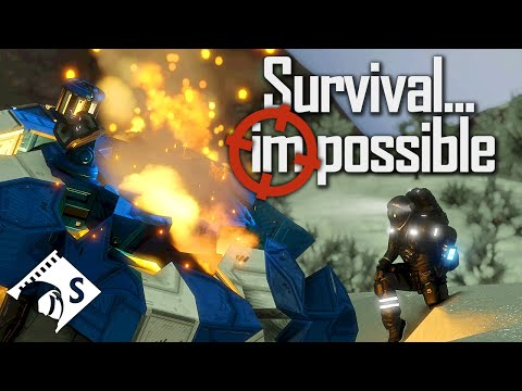 Survival Impossible - Space Engineers Hardcore Survival