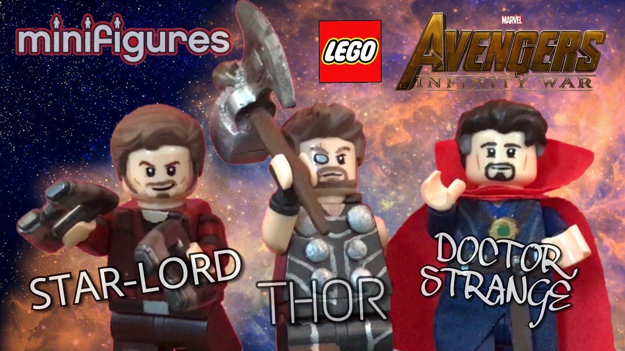 Dr Strange Minifigure Avengers Infinity War for CUSTOM Lego Minifigures Figure