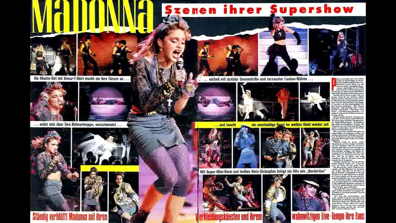 Madonna Live At The Radio City Music Hall In Nyc 6 6 1985 Complete Remastered Youtube