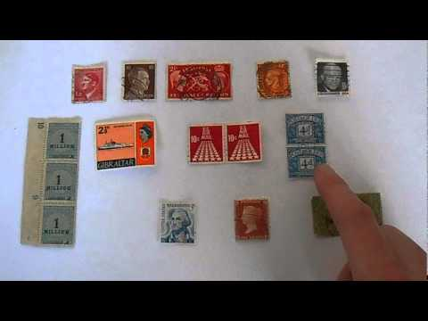How to Value and Sell a Stamp Collection - YouTube
