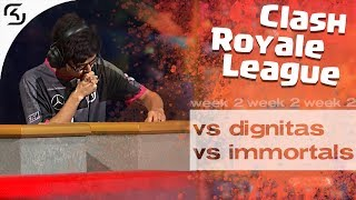 SK VS DIGNITAS & IMMORTALS | CRL WEST FALL 19 W2 | HIGHLIGHTS