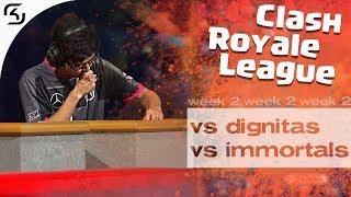 SK VS DIGNITAS & IMMORTALS | CRL WEST FALL 19 W2 | HIGHLIGHTS