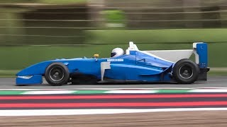 OnBoard the only shark-finned Formula 3 car: Mygale M10 F3 w/ Fiat FPT 2.0 Engine!