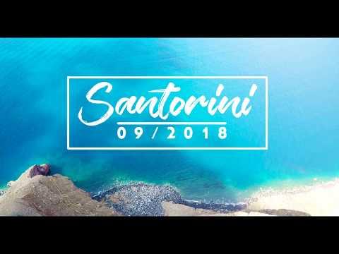 Santorini 4k - Travel Video! Magical ! Best sunset in the World