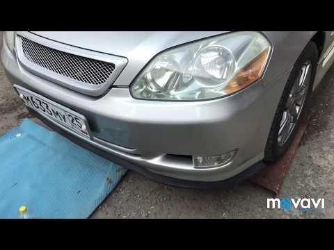 Установка универсальной губы Samurai Toyota Mark zjx110