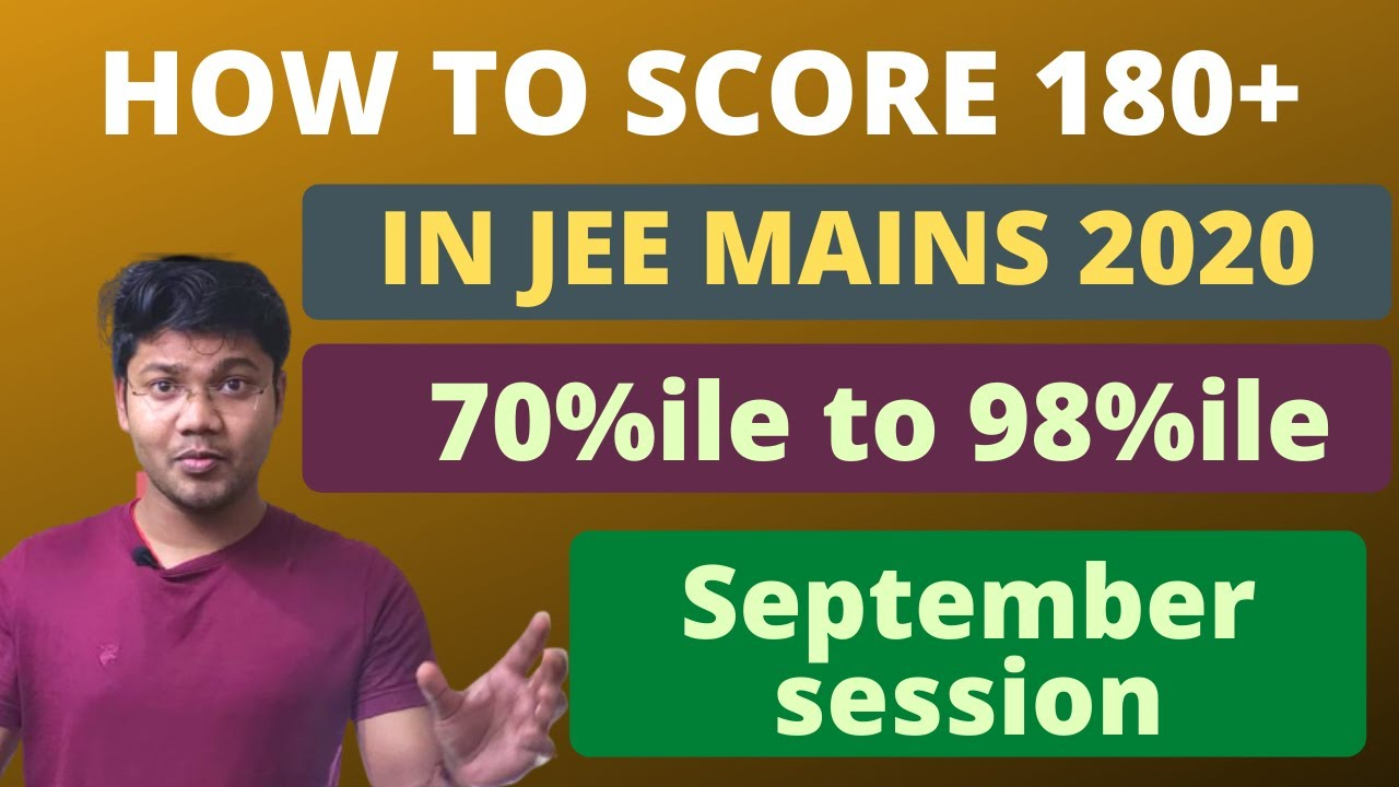 How to prepare for jee mains 2020 in just 45 days september month trick
