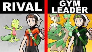 If Every Pokemon Rival Became a Gym Leader