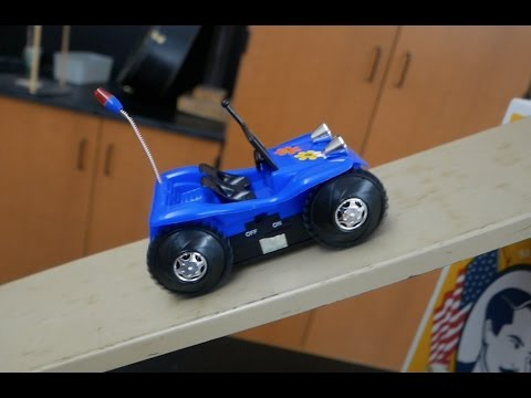 Calculating Toy Motor Horsepower  Activity  // Homemade Science with Bruce Yeany