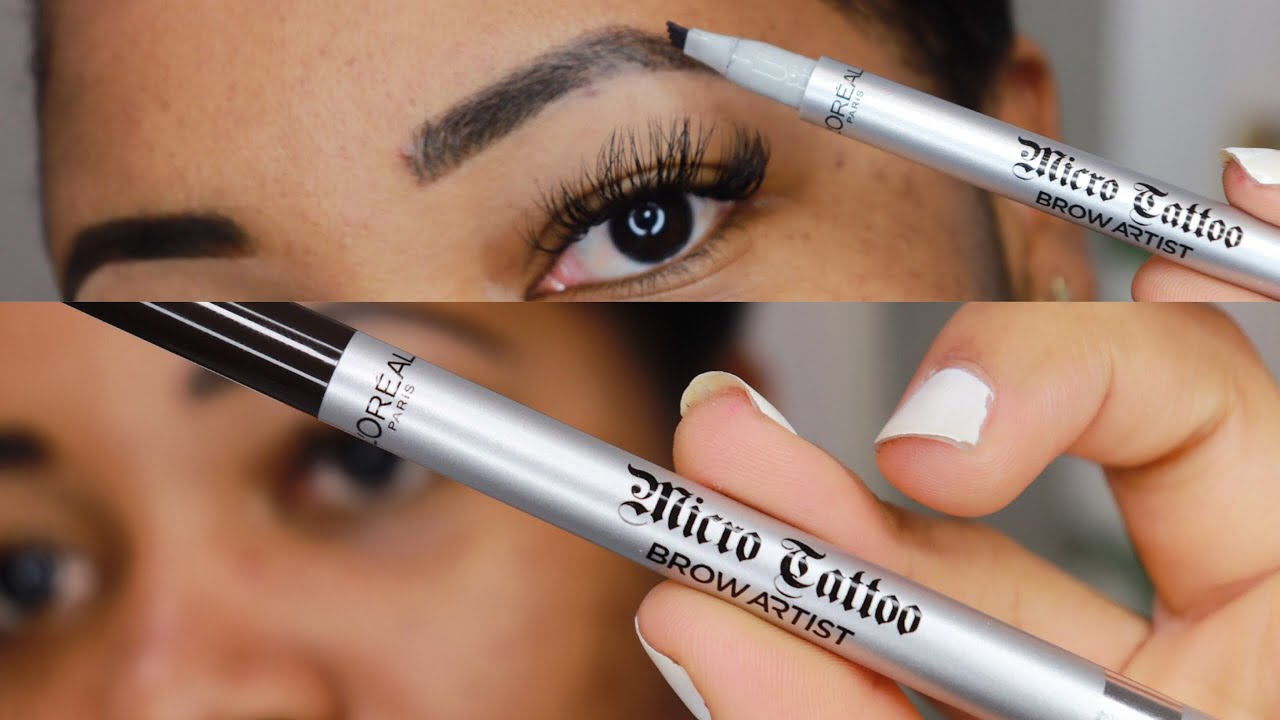 Review Of Loreal Paris Micro Tattoo Brow Artist 24 Hour Brows Definer Stwfblog