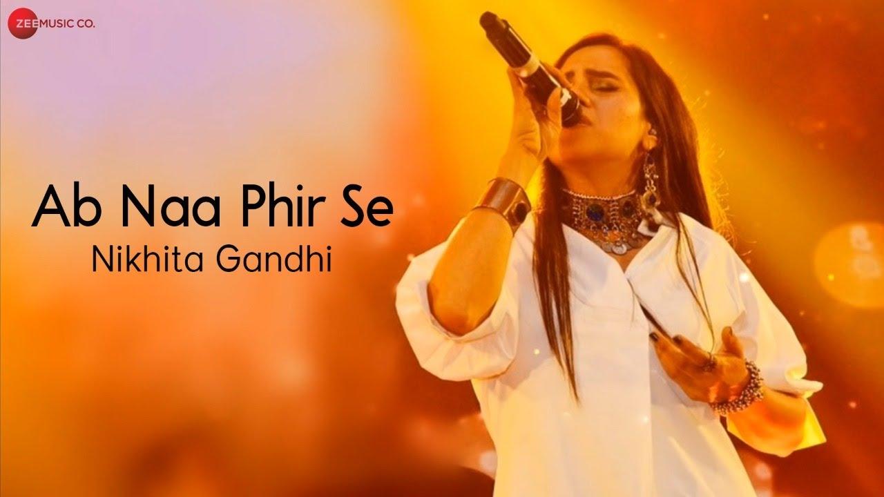 Ab Na Phir Se By Nikhita Gandhi - Lyrical   Hacked   Nikhita Gandhi   Amjad Nadeem Aamir