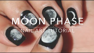 Moon Phase | Nail Art Tutorial