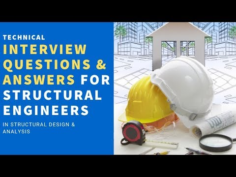 Structural Engineers Interview Questions Answers Youtube