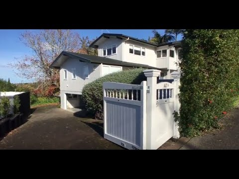 Houses for Rent in Auckland New Zealand: Epsom House 5BR/3.5BA by Auckland Property Management