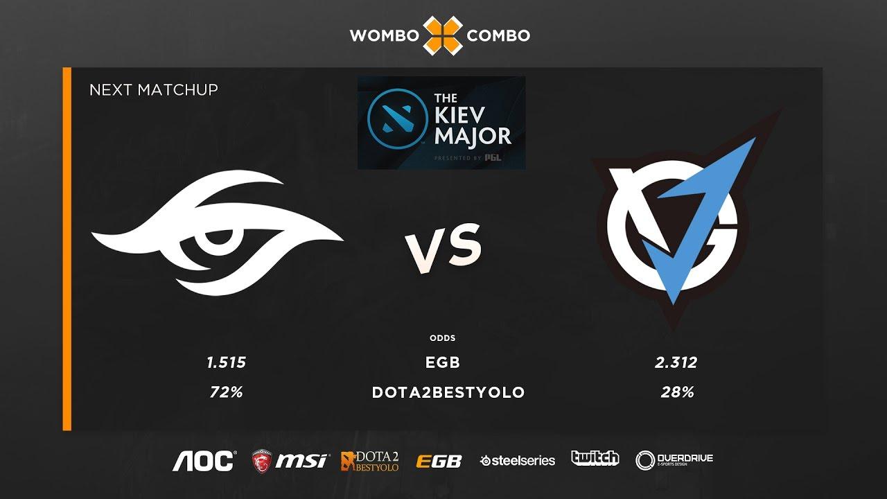 Team Secret vs VG J Kiev major group stage Game 2