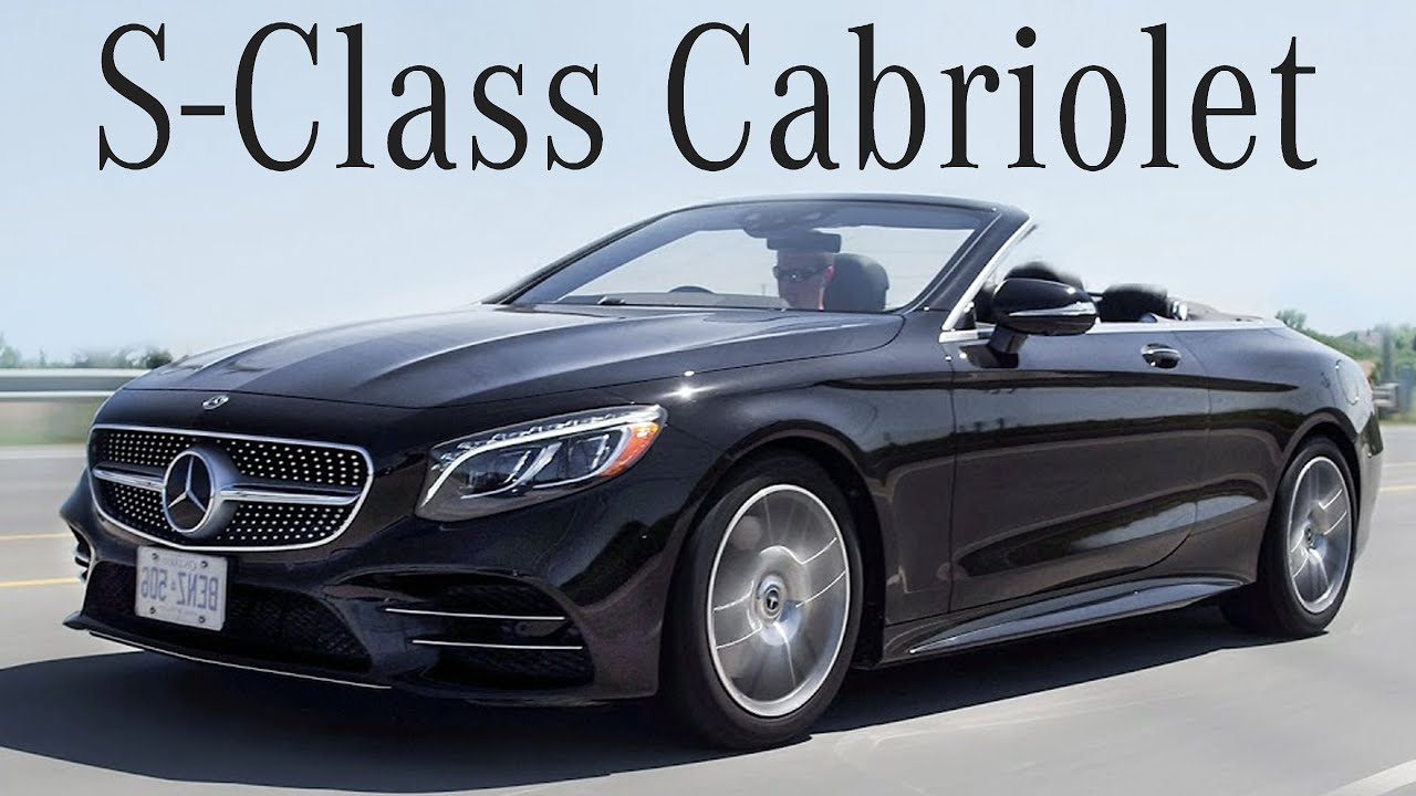 2018 Mercedes S560 Cabriolet Review - Ultra Luxury Drop ...
