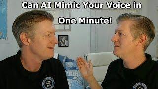 أن منظمة العفو الدولية تقليد صوتك في دقيقة ؟ Lyrebird صوت - الذكاء الاصطناعي
