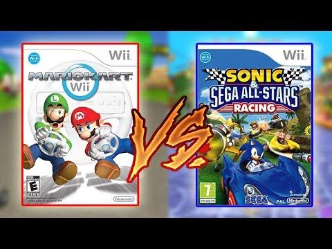 Thunder Compares: Mario Kart Wii Vs Sonic And Sega All-Star Racing