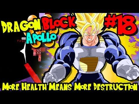 MORE HEALTH MEANS MORE DESTRUCTION! | Dragon Block C: Apollo (Minecraft DBZ Server) - Episode 18
